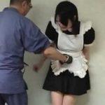 「腹パンチ誘拐萌え~」メイドコスの女の子を徹底腹パンチ調教