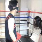 ミックスキックボクシング!ボディーブロー&キック・顔面パンチで女の子が悶絶!