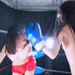 スレンダー美女同士のトップレス&ショートタイツ着用のボクシング対決が観たい!